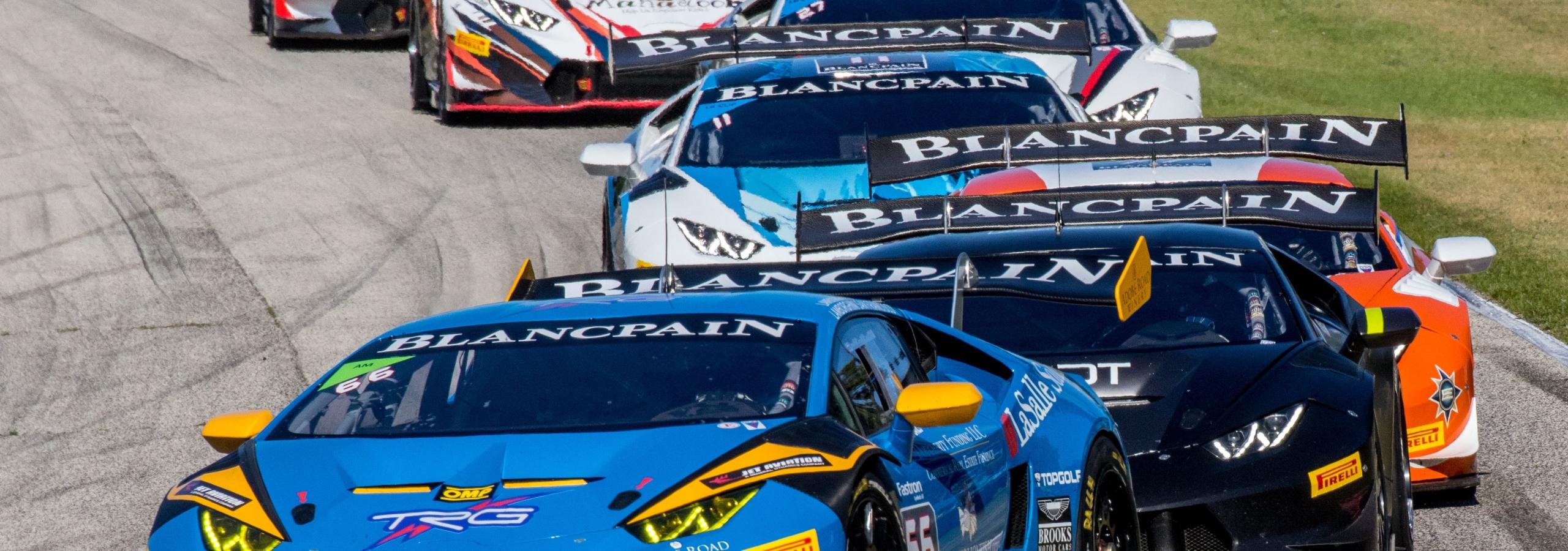 TRG Lamborghini's Weekend of Italian Racing and Californian Wines at Road America