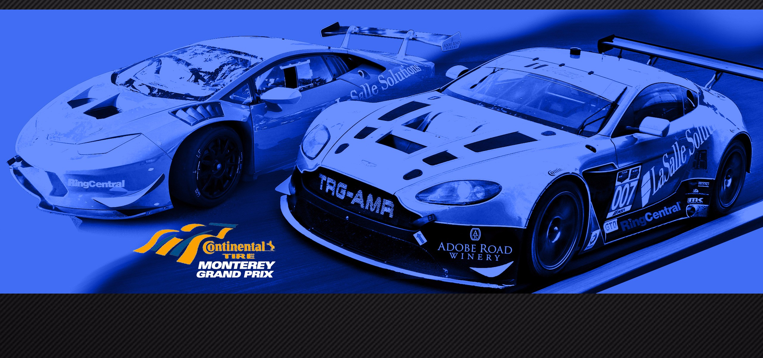 The Racers Group Looks to Conquer the Famed Laguna Seca Corkscrew with Both Aston Martin and Lamborghini