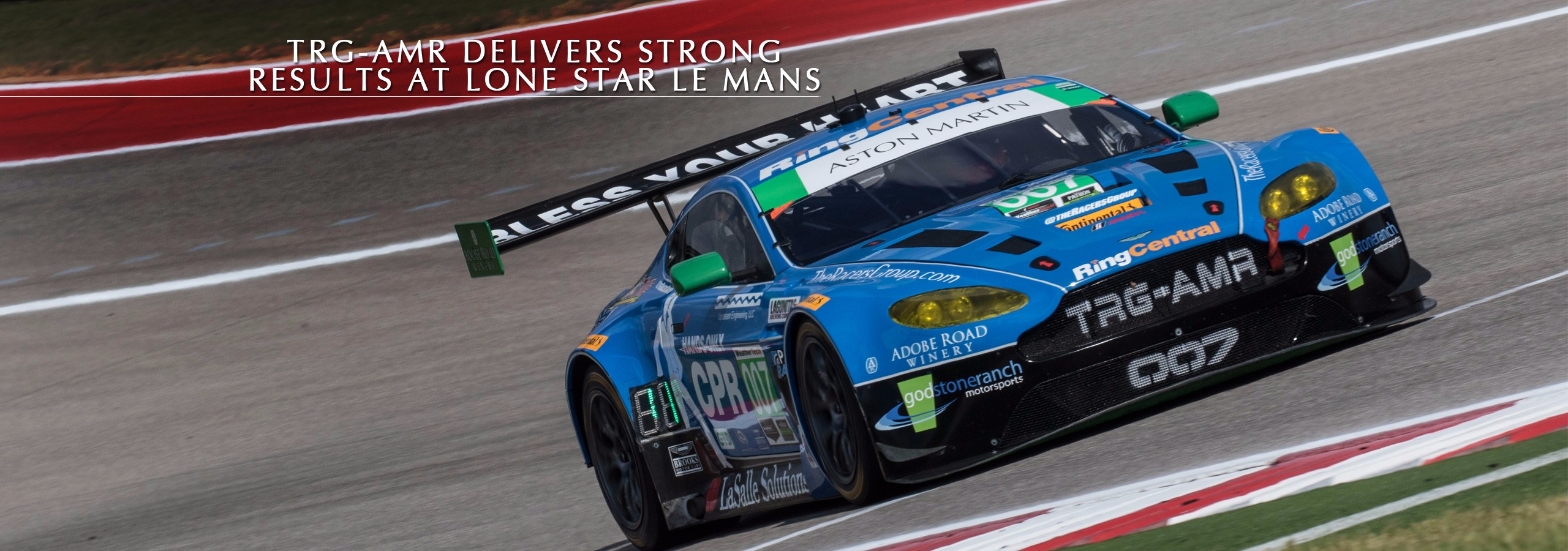 TRG-AMR Delivers Strong Results At Lone Star Le Mans