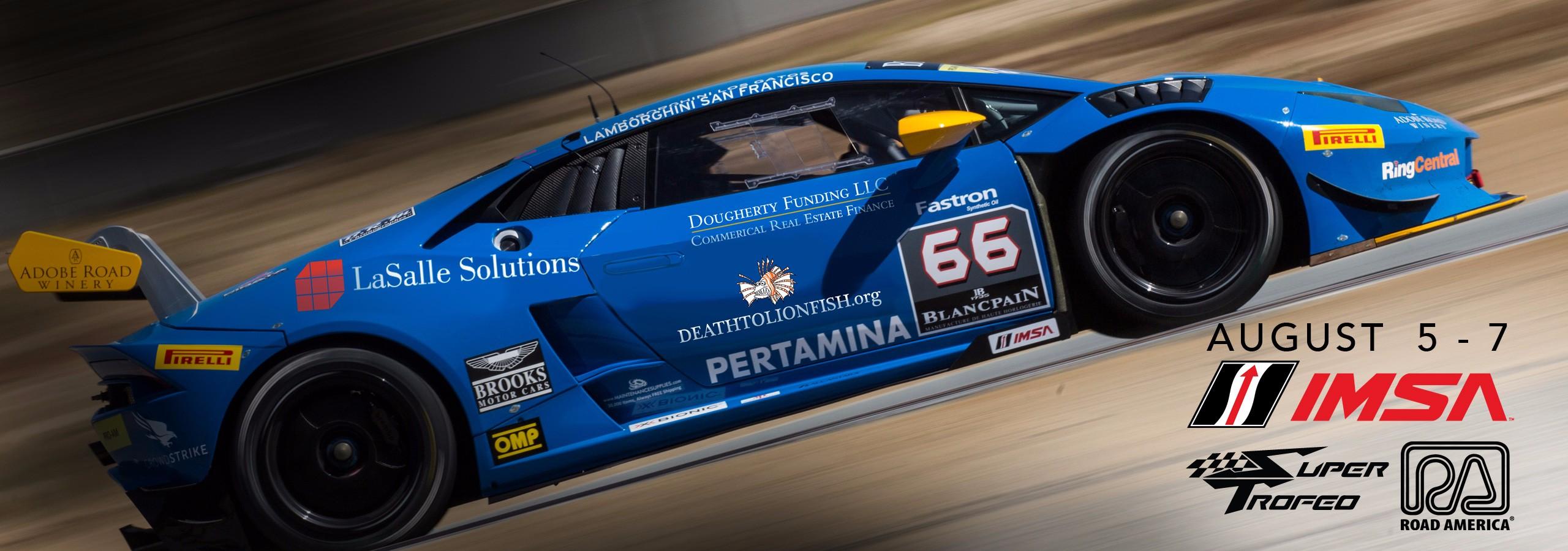 TRG Lamborghini Prepares for Double-Header Race Weekend at Road America