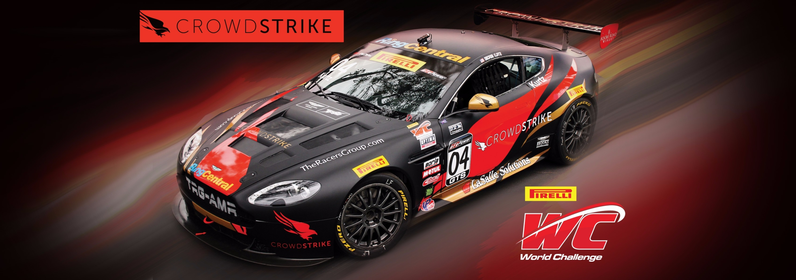TRG-Aston Martin Racing, CrowdStrike CEO George Kurtz Partner for Pirelli World Challenge