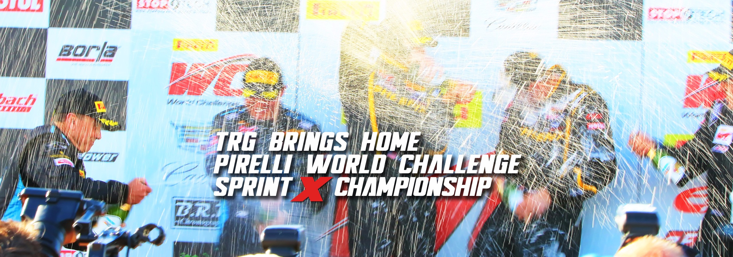 TRG Brings Home Pirelli World Challenge Sprint X Championship