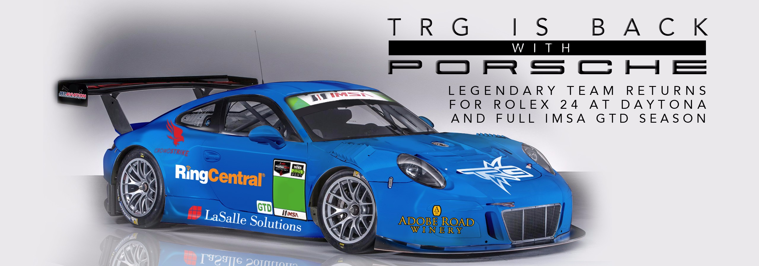 TRG is back with Porsche