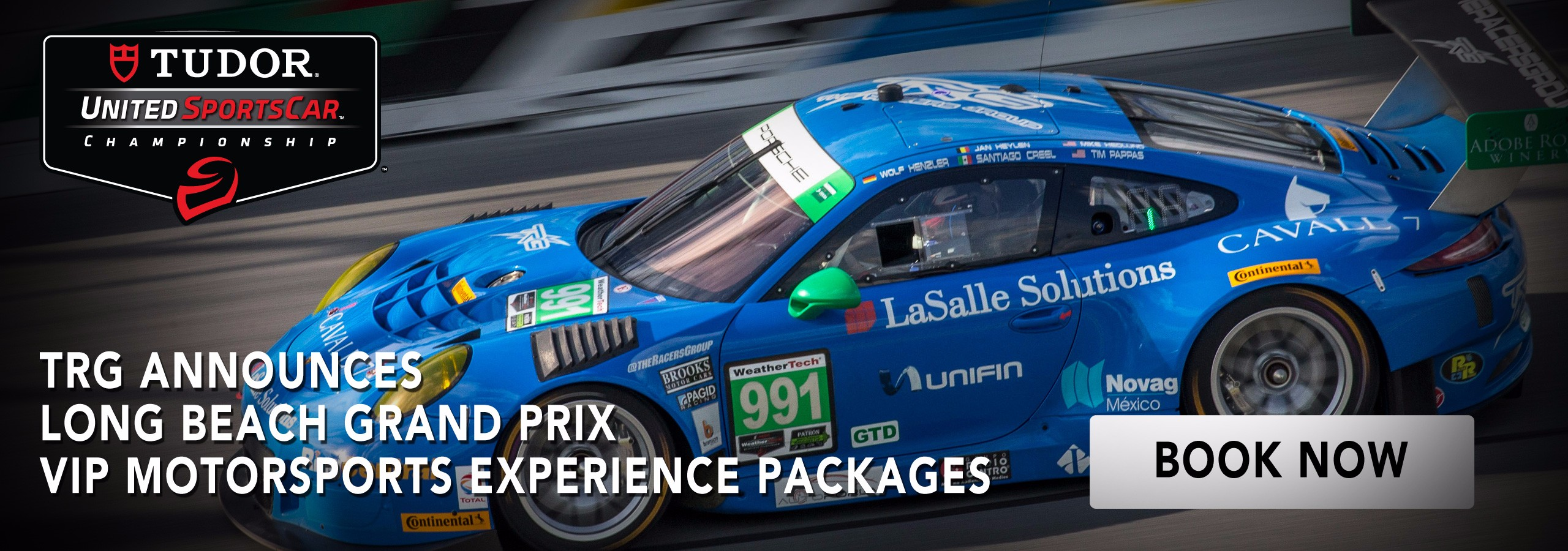 TRG Announces Long Beach Grand Prix Motorsports Experience Packages