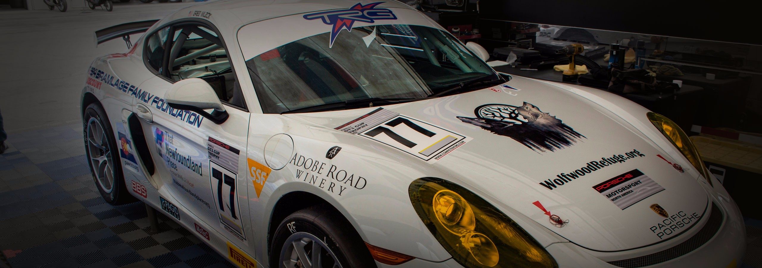TRG Porsche Completes Double-Header Race Weekend at Laguna Seca
