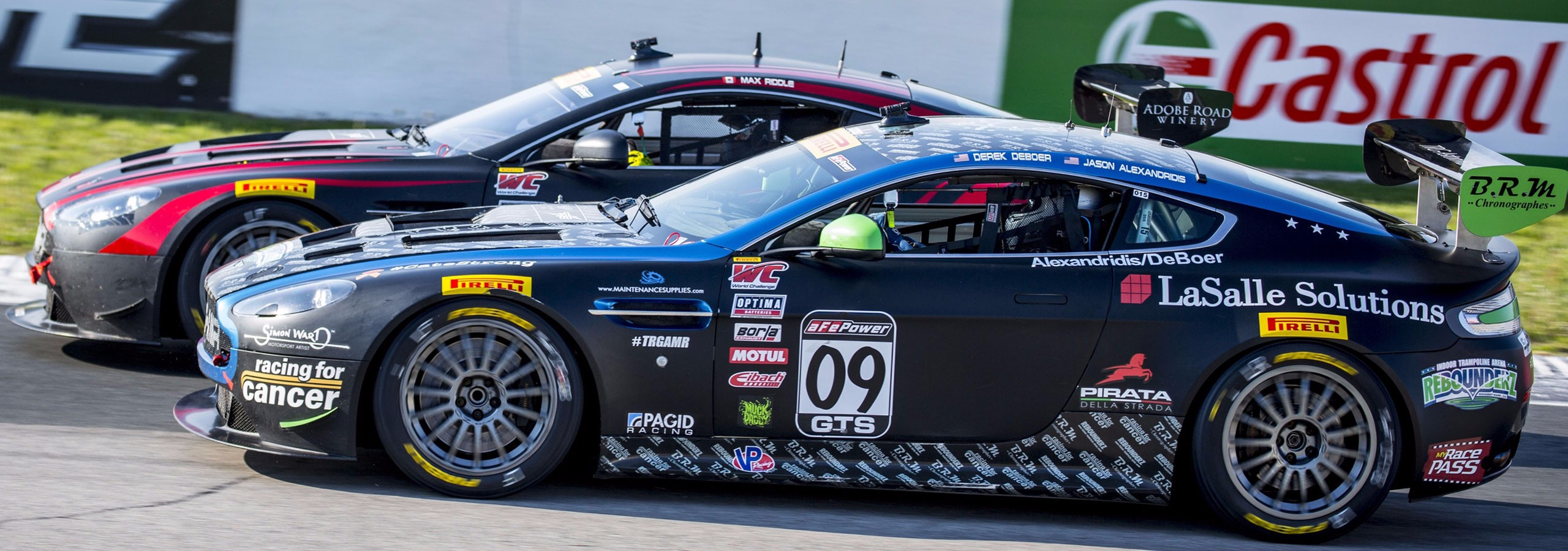 Victory in Canada: TRG-Aston Martin Racing Earns 3 Wins, 6 Podiums Over PWC Race Weekend