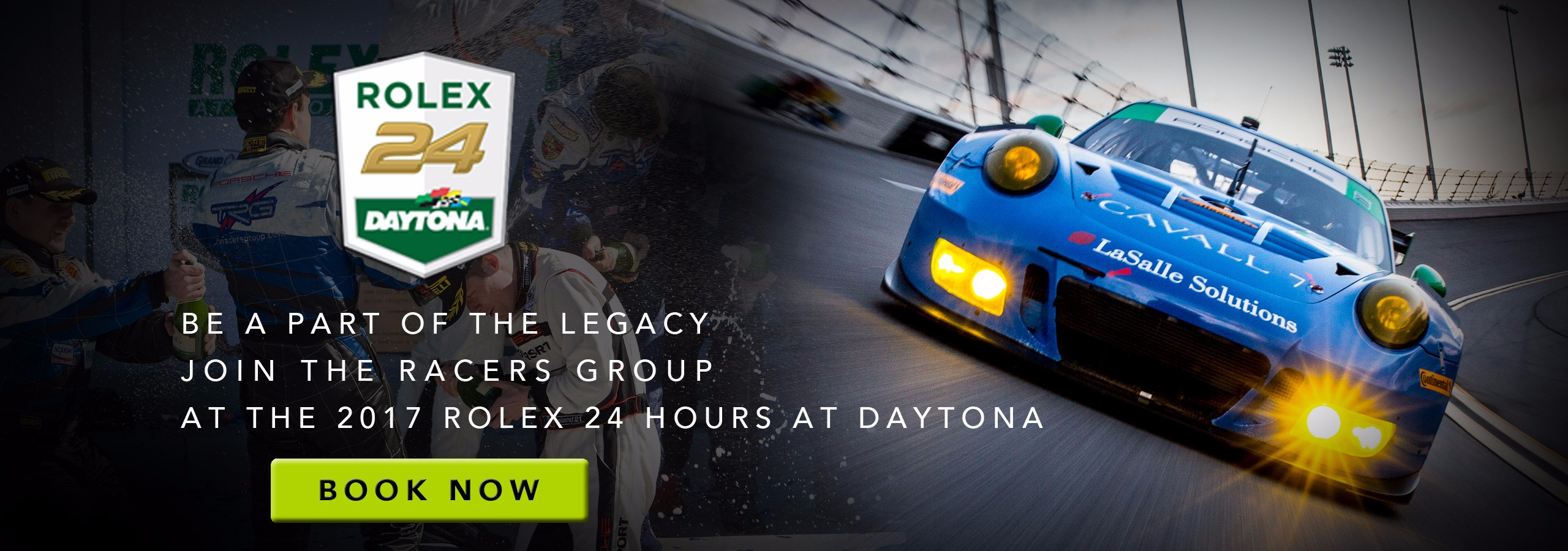 TRG's VIP Motorsports Experience at the Rolex 24 Hours at Daytona