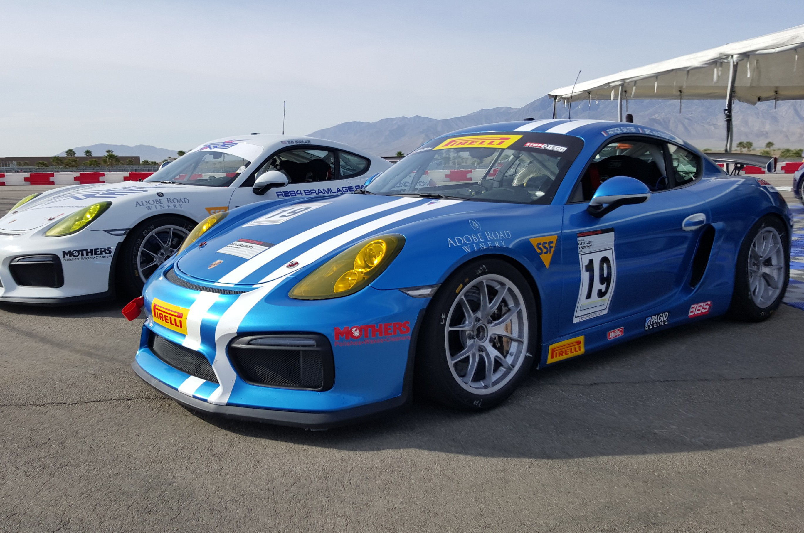 The Racer's Group Plans on Another Podium at the Pirelli GT3 Cup Trophy USA – Thermal