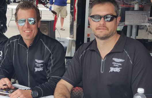 Alexandridis, DeBoer Take On Barber Motorsports Park in No. 09 Aston Martin Vantage