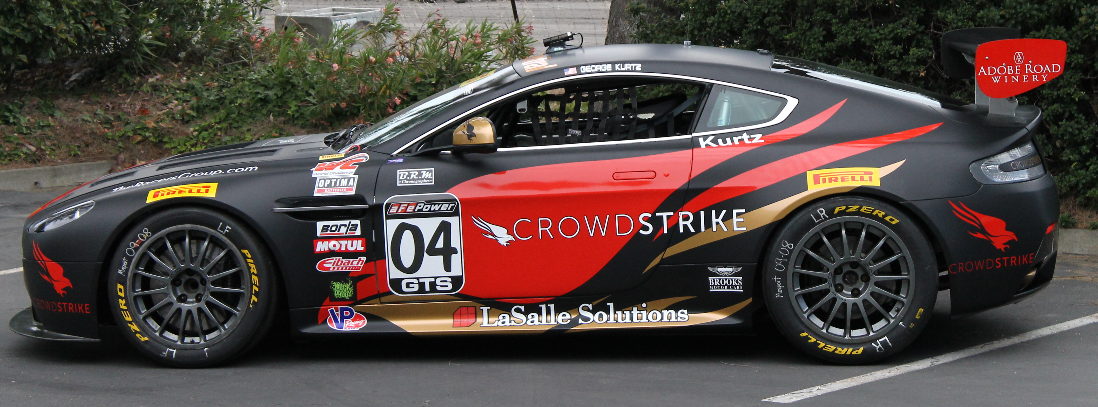 TRG Aston Martin Racing, CrowdStrike CEO George Kurtz Partner For PWC