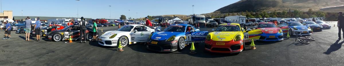 TRG Porsche at Sonoma