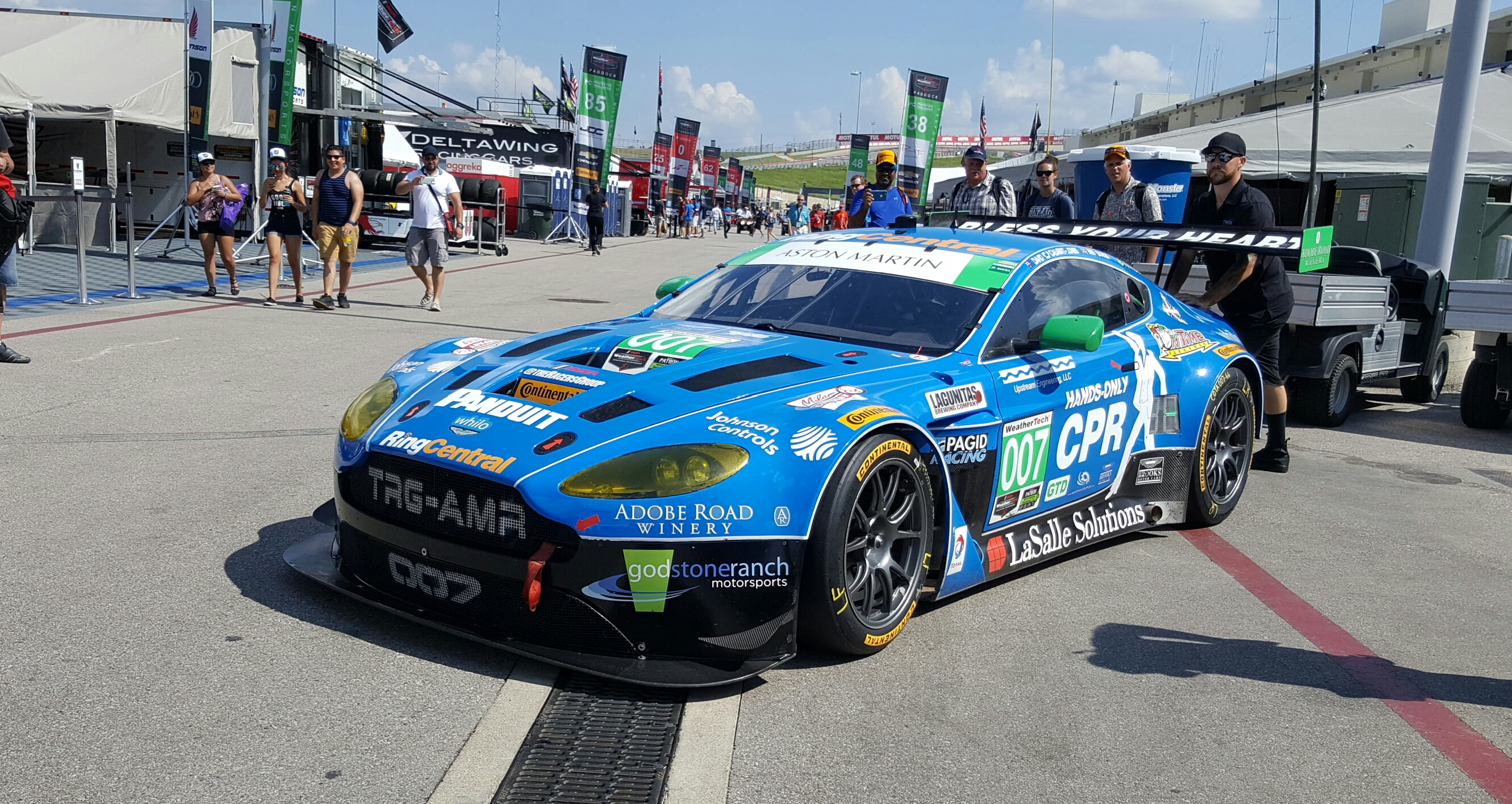 2013 Aston Martin V12 Vantage Gt3 The Racers Group High