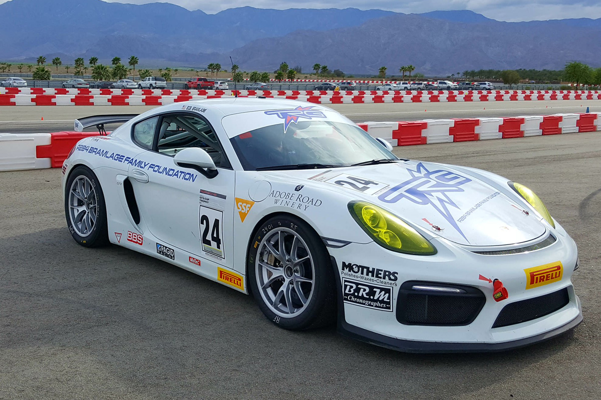 2016 Cayman GT4 Clubsport (Multiple Chassis Available)