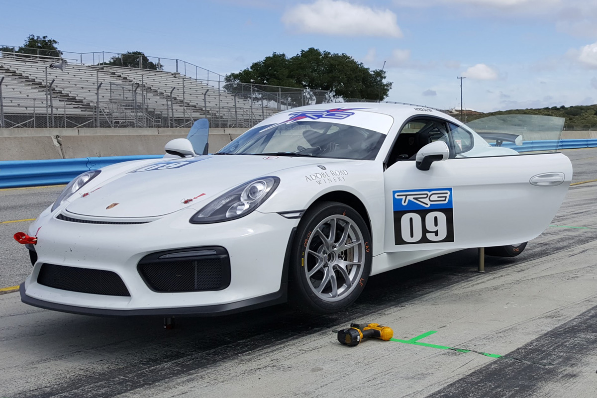 2016 Porsche Cayman Gt4 Clubsport The Racers Group High Performance Racing Parts Service And