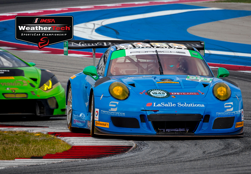 Parker Chase and Harry Gottsacker to drive for The Racers Group at COTA in the Porsche GT3-R