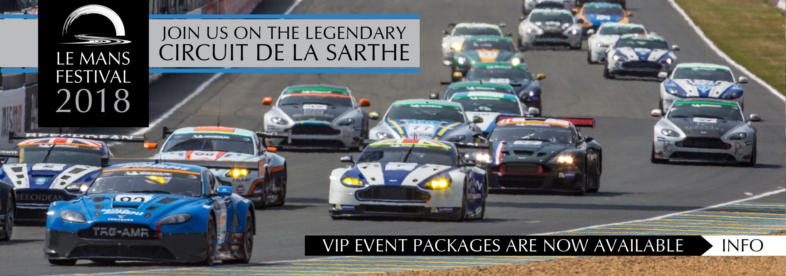 Aston Martin 2018 Le Mans Festival