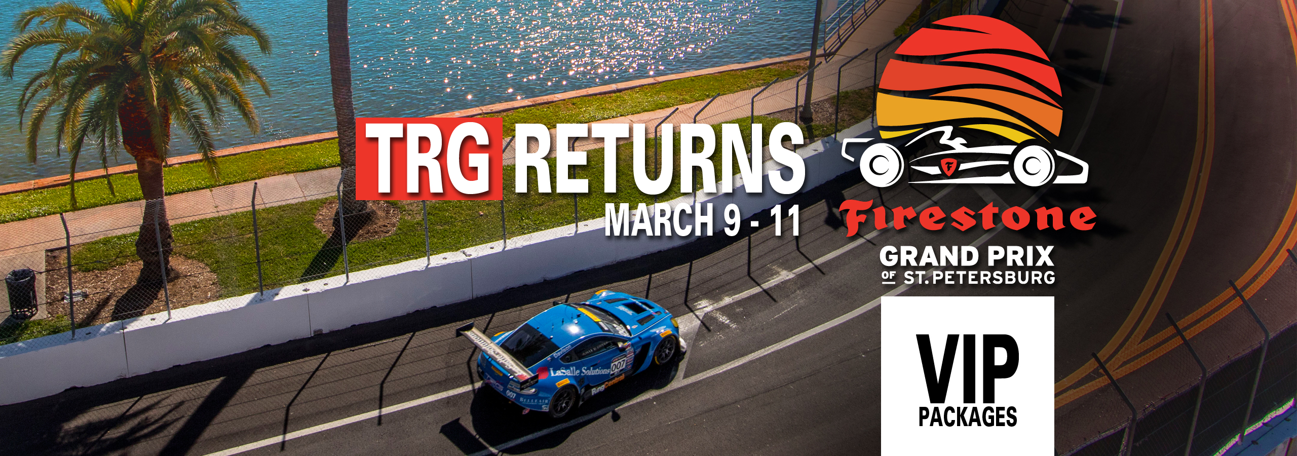 TRG Returns to the Grand Prix of St. Petersburg