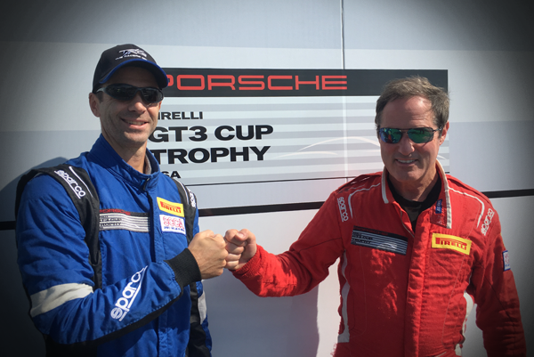 Bellomo and Rappaport Suit Up for Pirelli Cup Trophy Season Opener in Las Vegas