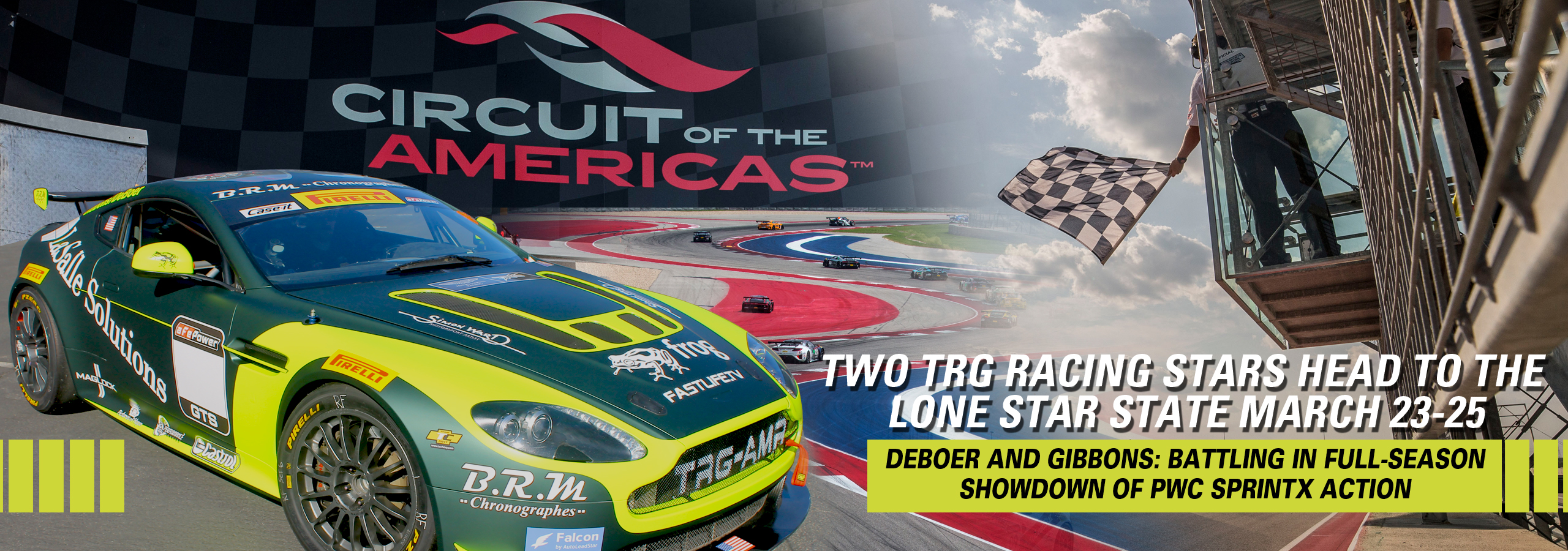 Two TRG Racing Stars Head to the  Lone Star State March 23-25