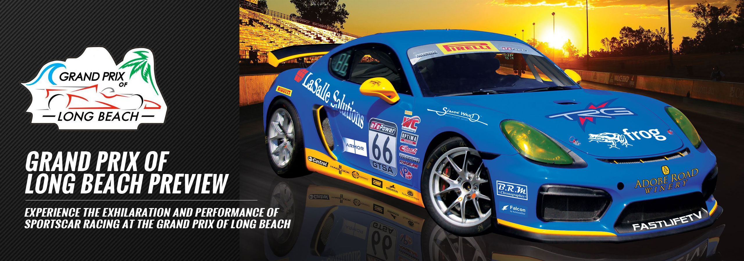 Experience the Exhilaration and Performance of Sportscar Racing at the Grand Prix of Long Beach