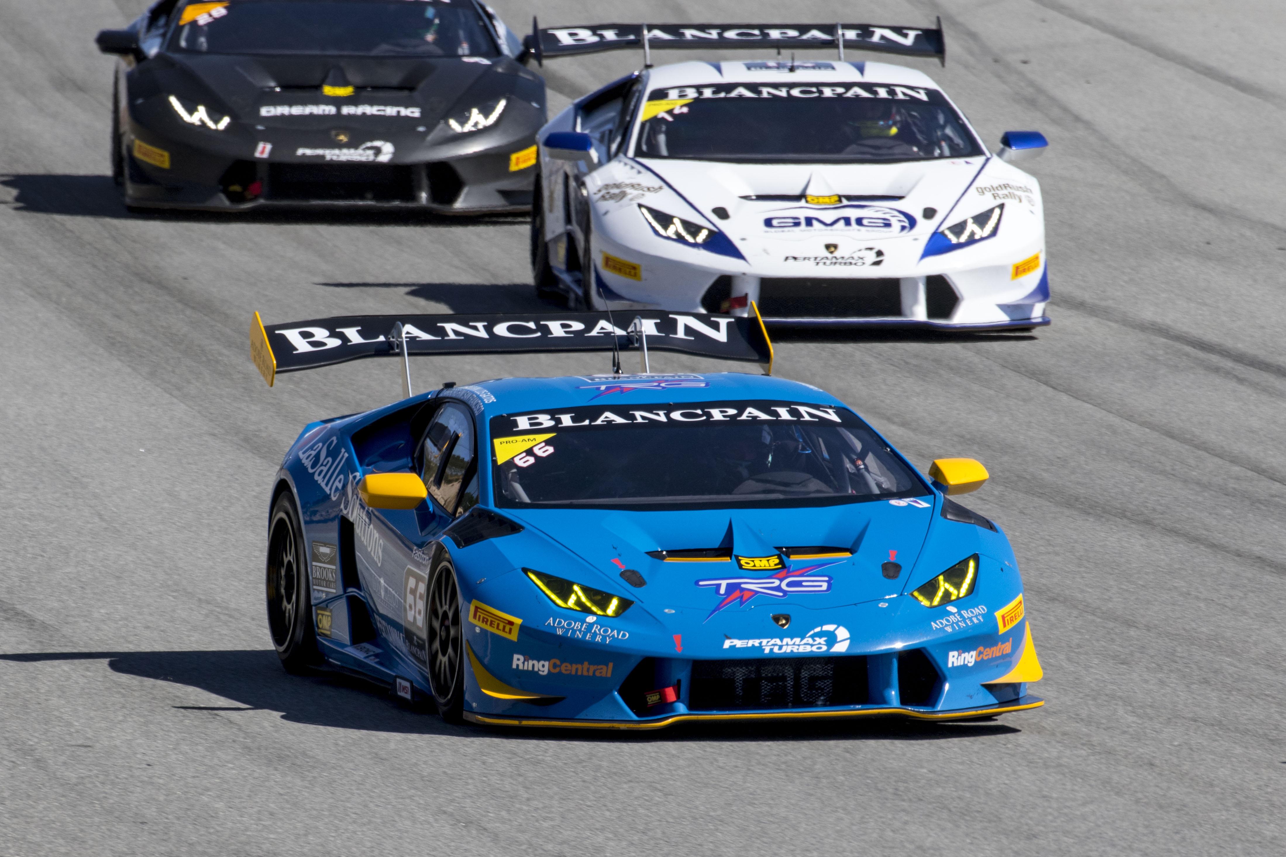 TRG to Debut New Lamborghini Super Trofeo Team at Mazda Raceway Laguna Seca
