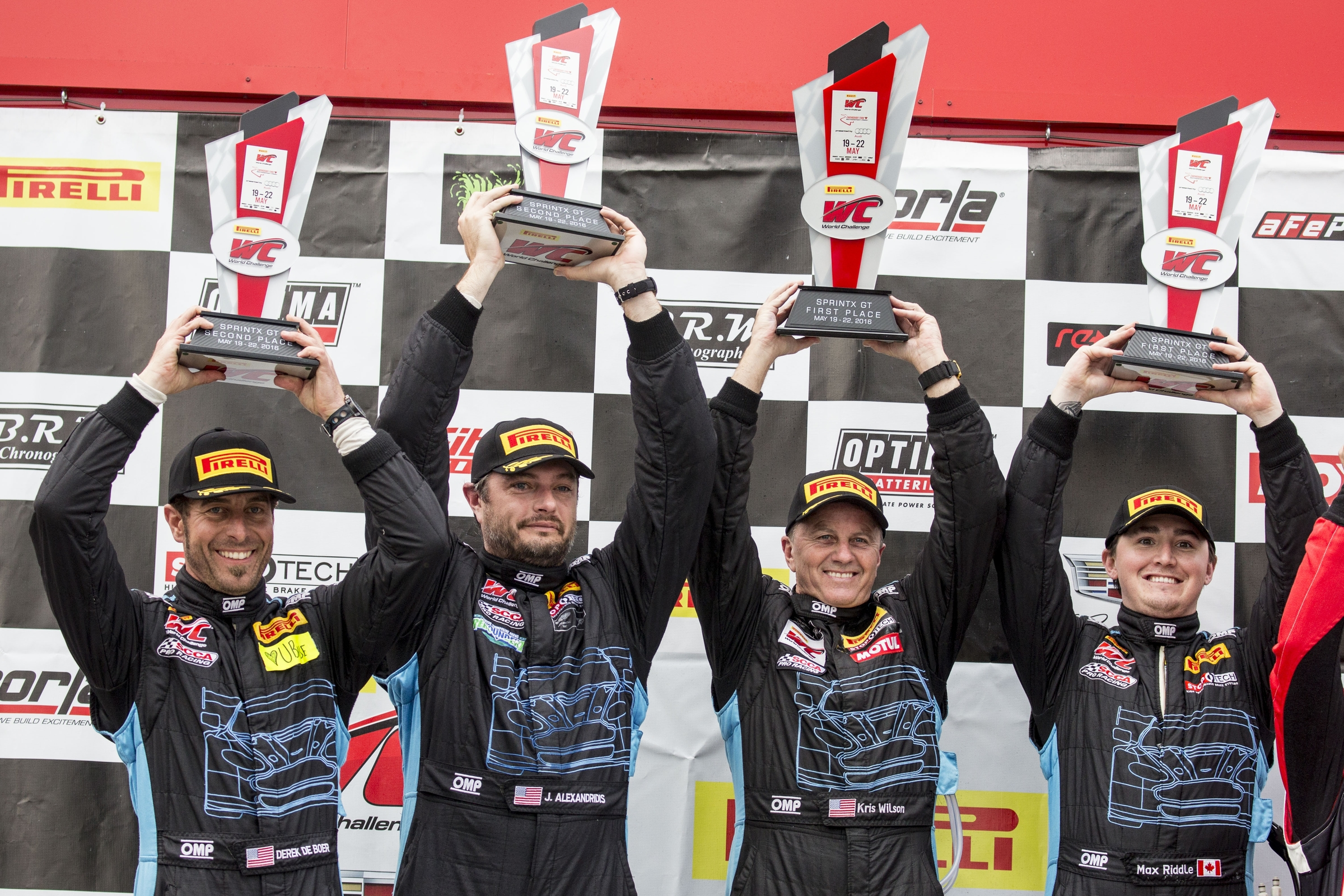 Victory in Canada: TRG-Aston Martin Racing Earns Three Wins, Six Podiums Over PWC Race Weekend