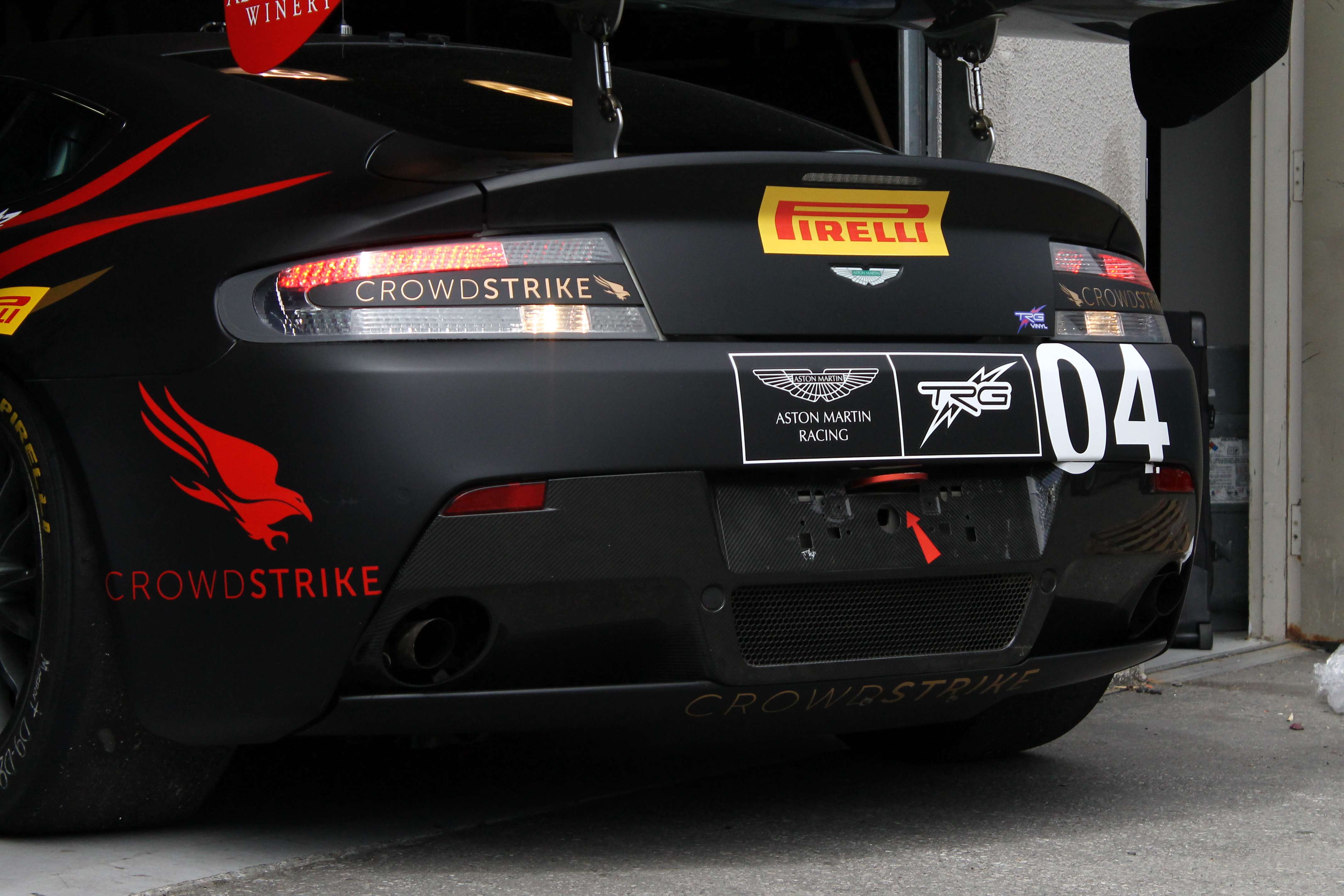 TRG-Aston Martin Racing, CrowdStrike CEO George Kurtz Partner for PWC