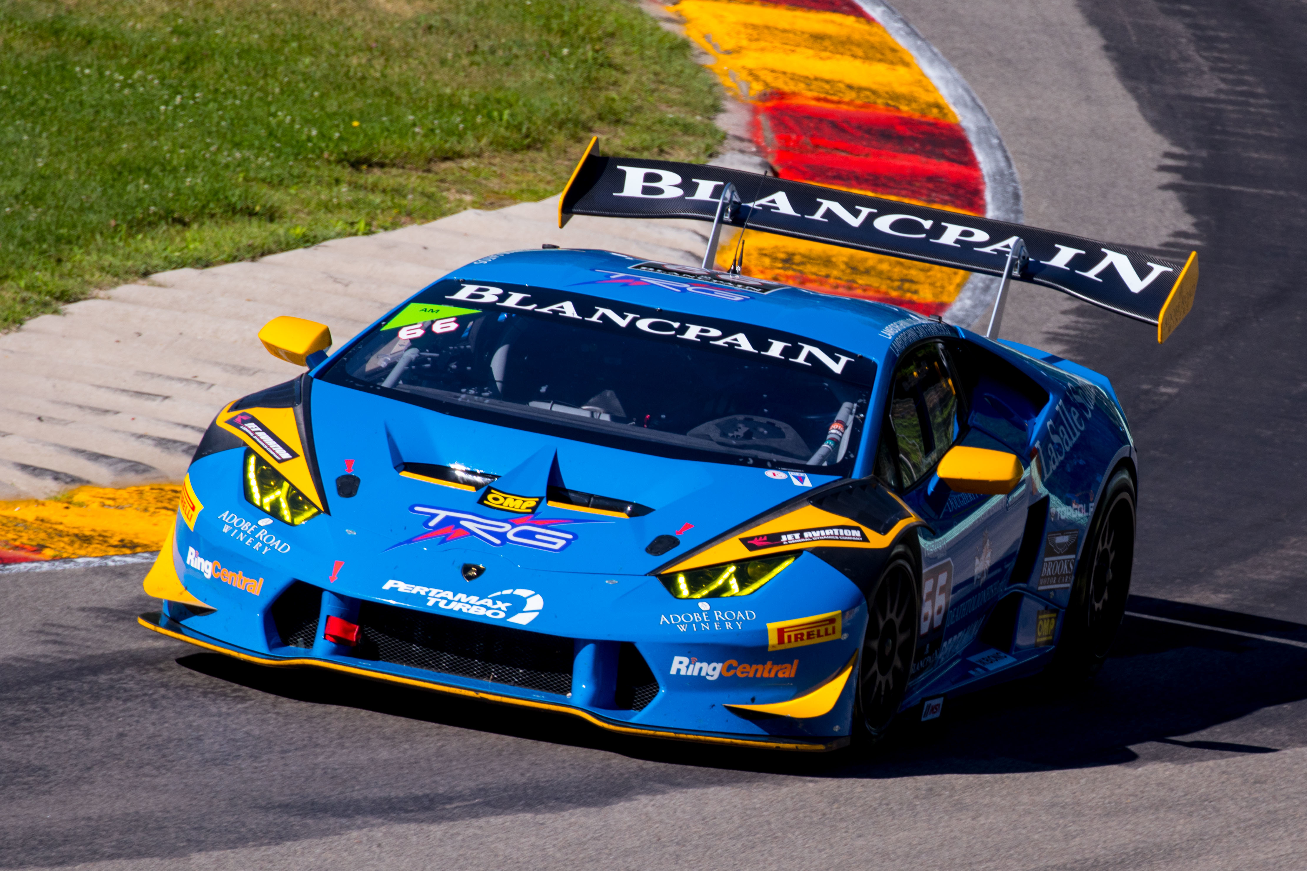 TRG Lamborghini's Weekend of Italian Racing and Californian Wines at Road America