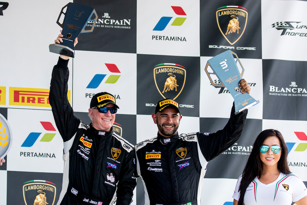 TRG Adds Another Podium to Racing History at VIR ― This Time, with Lamborghini