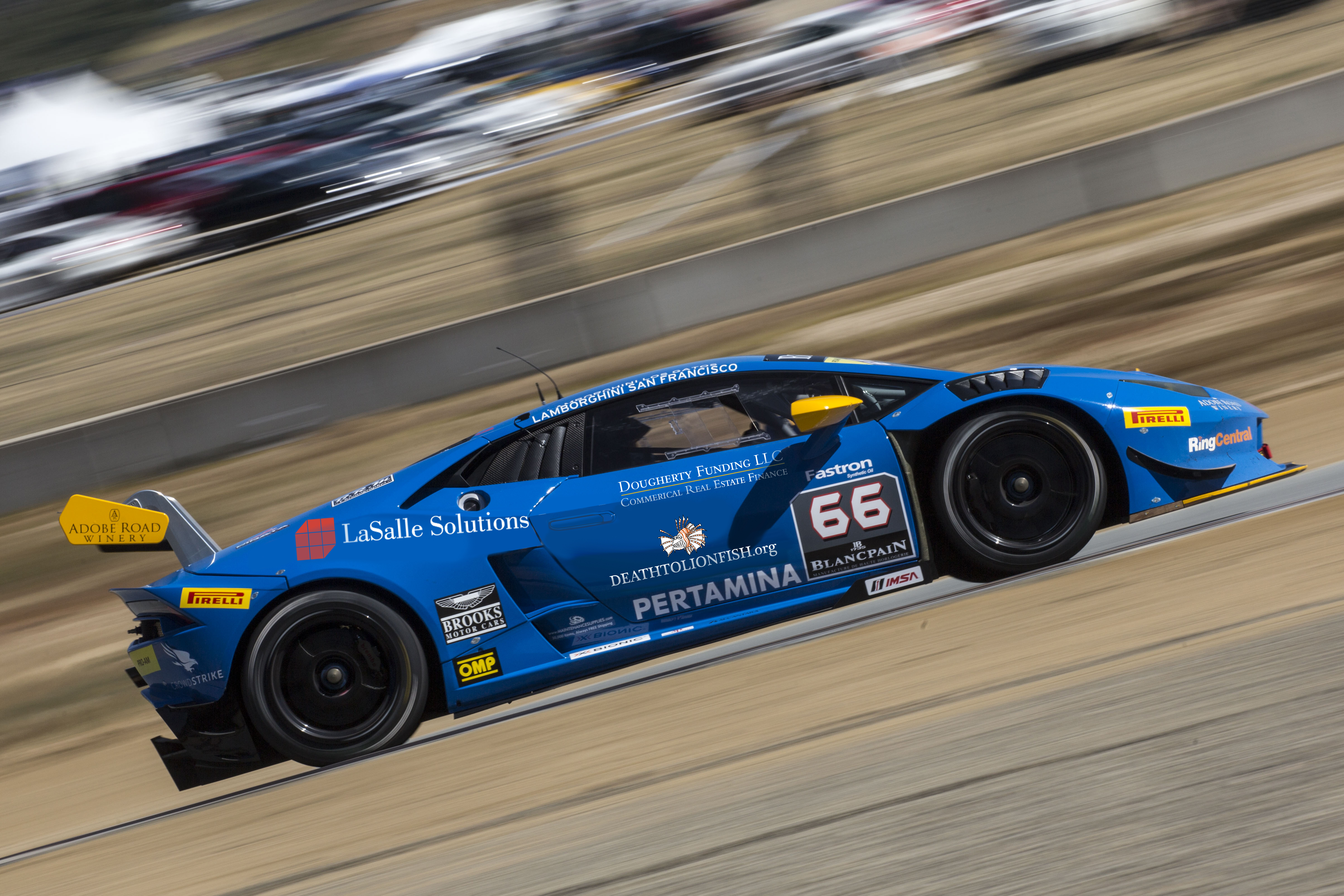 TRG Lamborghini Prepares for Double-Header Race Weekend at Road America