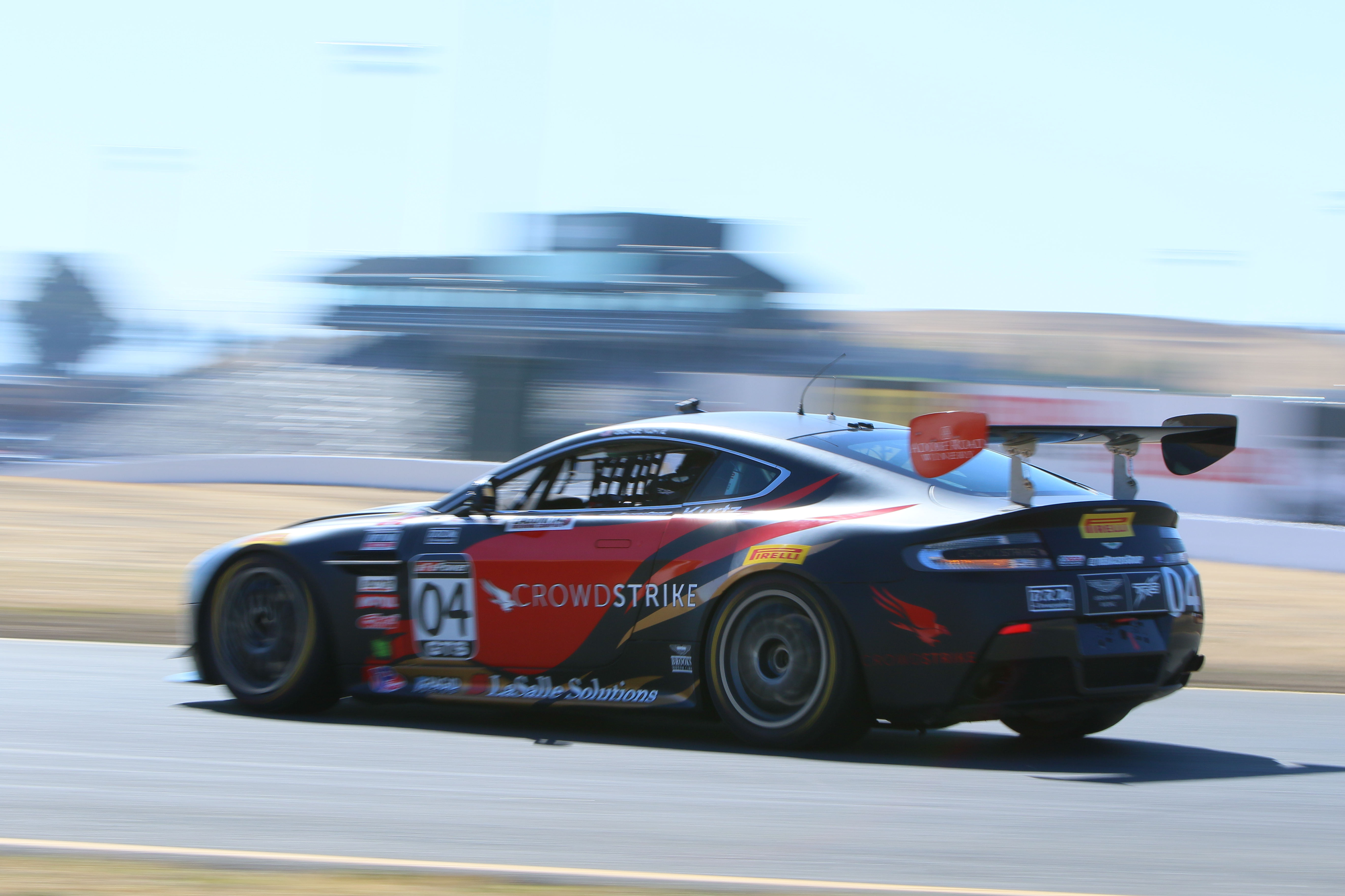 TRG-AMR Celebrates Home Pirelli World Challenge Race with Three Cars at Sonoma Raceway