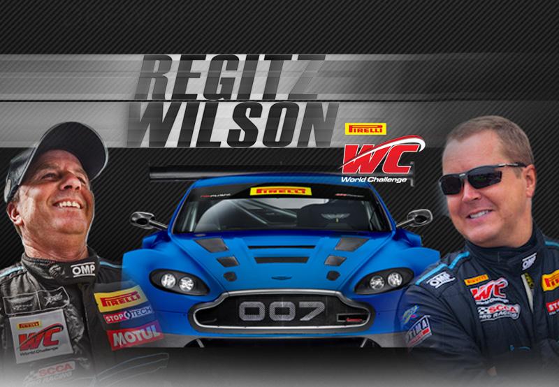 Drew Regitz and Kris Wilson Team Up with TRG's V12 Aston Martin Vantage GT3