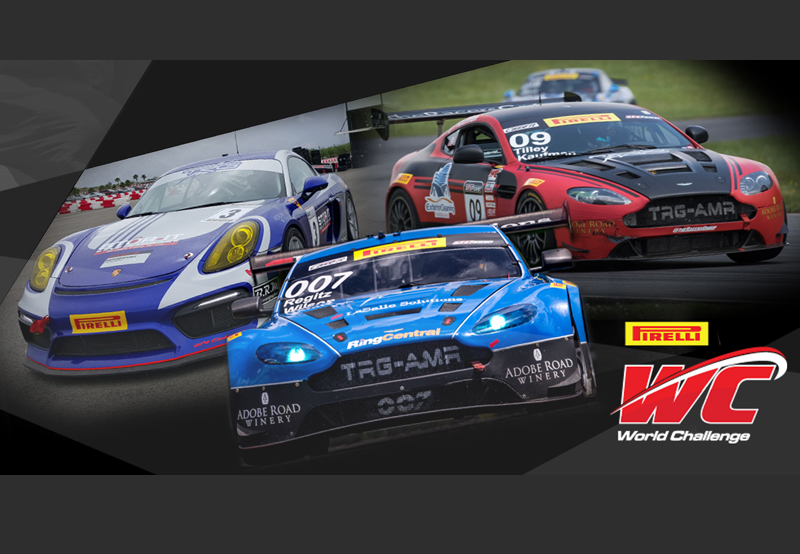 The Racers Group Revs up Strong Triple Threat at Mosport
