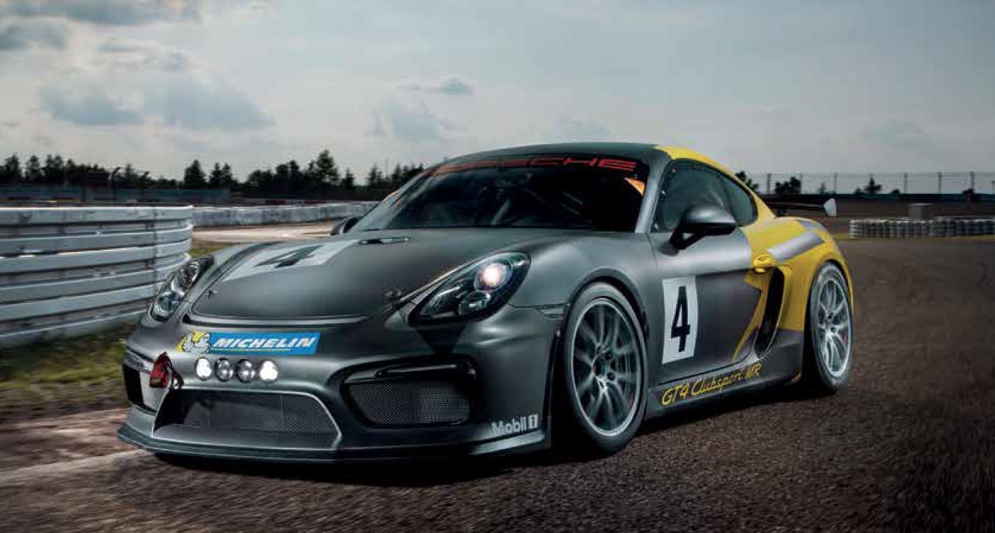 2016 Porsche Cayman GT4 Clubsport MR