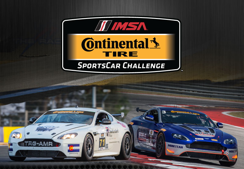 TRG to Hit the Ground Roaring at Laguna Seca: Team Returns to the Continental Tire Sportscar Challenge with a Two-Car Aston Martin Line-up