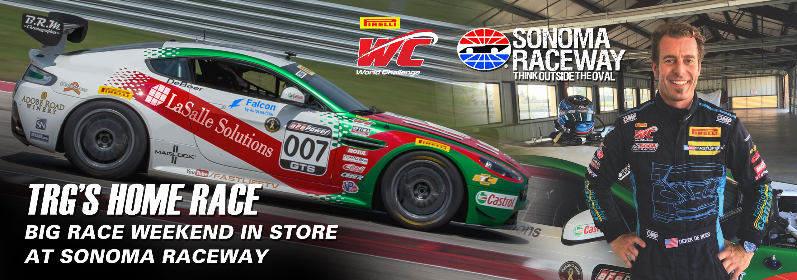 TRG's Home Race: Big Race Weekend in Store at Sonoma Raceway