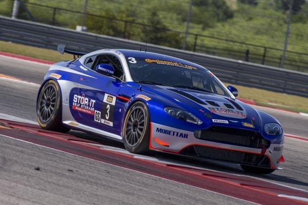 Fully Loaded Aston Martin Vantage GT4