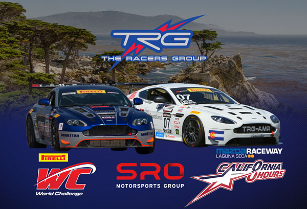 Let's Get Ready to Race! TRG Shifts into Laguna Seca for Inaugural California 8 Hours